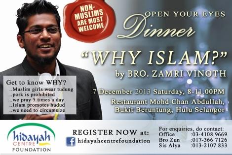 OYED : WHY ISLAM?